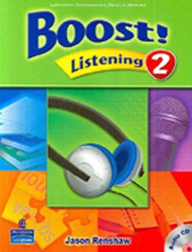 Boost! Listening 2   Student Book with CD