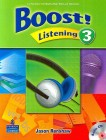 Boost! Listening 3   Student Book with CD