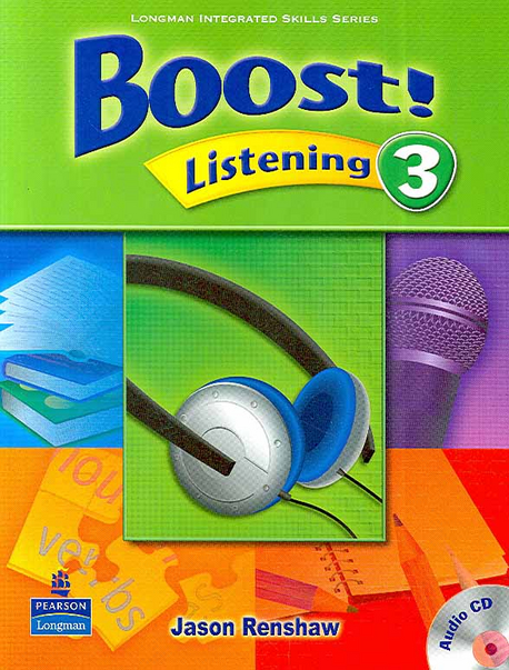 Boost! Listening 3 | Student Book with CD