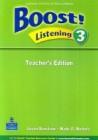 Boost! Listening 3 | Teacher's Edition