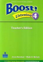 Boost! Listening 4 | Teacher's Edition