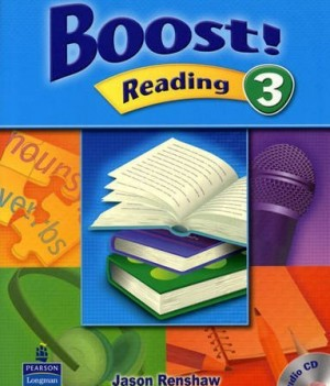 Boost! Reading 3 | Student Book with CD