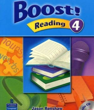 Boost! Reading 4 | Student Book with CD