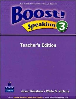 Boost! Speaking 3   Teacher's Edition
