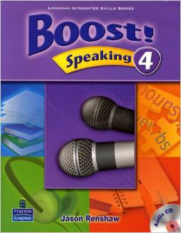 Boost! Speaking 4   Student Book with CD