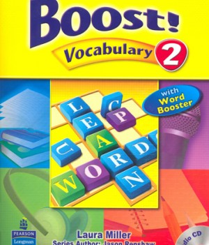 Boost! Vocabulary 2 | Student Book with CD