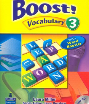 Boost! Vocabulary 3 | Student Book with CD