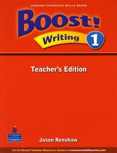 Boost! Writing 1   Teacher's Edition