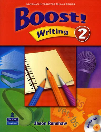 Boost! Writing 2   Student Book with CD