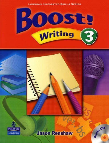 Boost! Writing 3   Student Book with CD