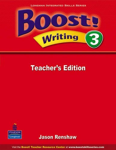Boost! Writing 3   Teacher's Edition