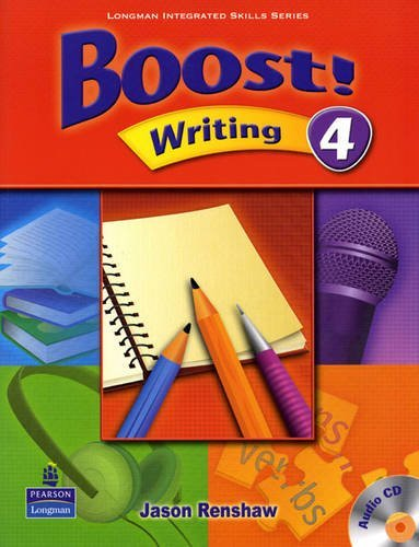 Boost! Writing 4   Student Book with CD