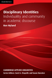 Disciplinary Identities: Individuality and Community in Academic Writing   Paperback