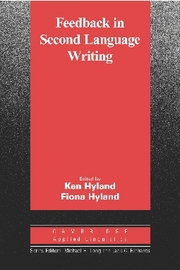 Feedback in Second Language Writing   Paperback