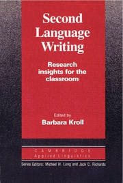 Second Language Writing   Paperback