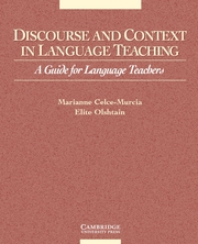 Discourse and Context in Language Teaching | Paperback