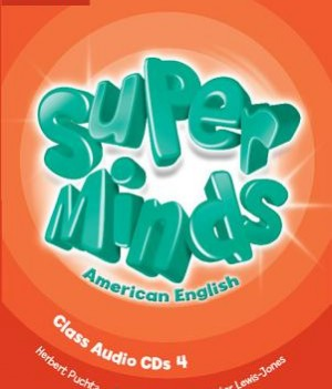 Super Minds American English 4 | Class Audio CDs (4)