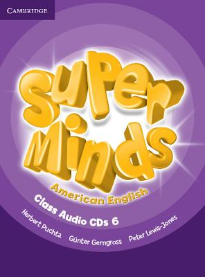 Super Minds American English 6 | Class Audio CDs (4)