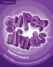 Super Minds American English 6 | Teacher's Book