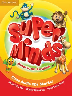 Super Minds American English Starter | Class Audio CDs (2)