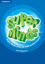 Super Minds Levels 1 and 2 | Tests CD-ROM