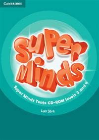 Super Minds Levels 3 and 4 | Tests CD-ROM