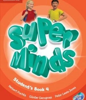 Super Minds 4 | Class Audio CDs (3)