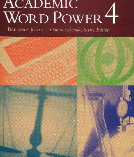 Academic Word Power 4 | Book 4 (144 pp)