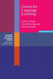 Games for Language Learning | Paperback