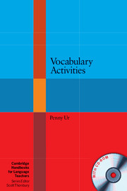 Vocabulary Activities | Paperback with CD-ROM