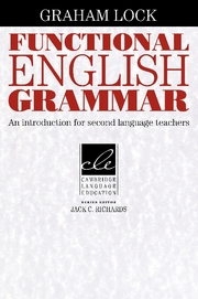 Functional English Grammar: An Introduction for Second Language Teachers | Paperback