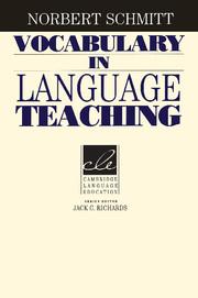 Vocabulary in Language Teaching | Paperback