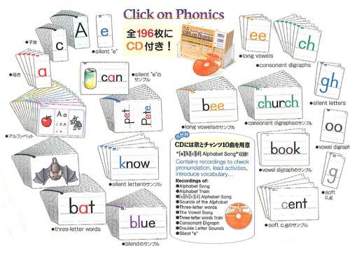 Click on Phonics | Cards & CD Set