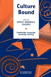 Culture Bound: Bridging the Cultural Gap in Language Teaching | Paperback