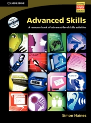 Advanced Skills | Book and Audio CD Pack