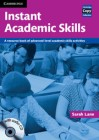 Instant Academic Skills | Book with Audio CD