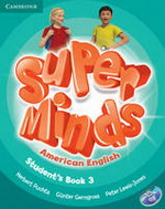 Super Minds American English 3 | Student's Book with DVD-ROM