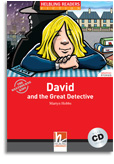 David and the Great Detective | Reader / Audio CD