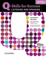 Q: Skills for Success - Listening and Speaking: Intro | Student Book with Online Practice