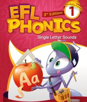 EFL Phonics 3rd Edition 1 | Student Book with workbook and CDs