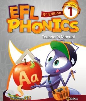 EFL Phonics 3rd Edition 1   Teacher's Manual with Resource CD