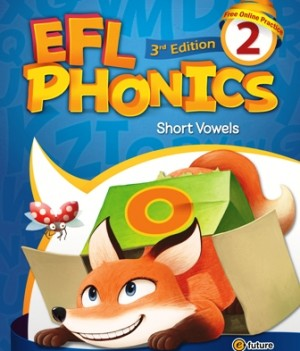 EFL Phonics 3rd Edition 2   Student Book with workbook and CDs