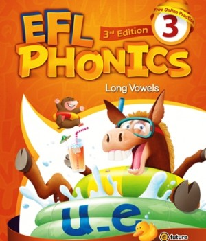 EFL Phonics 3rd Edition 3   Student Book with workbook and CDs
