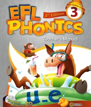 EFL Phonics 3rd Edition 3   Teacher's Manual with Resource CD