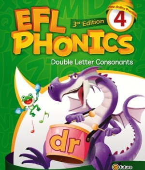 EFL Phonics 3rd Edition 4   Student Book with workbook and CDs