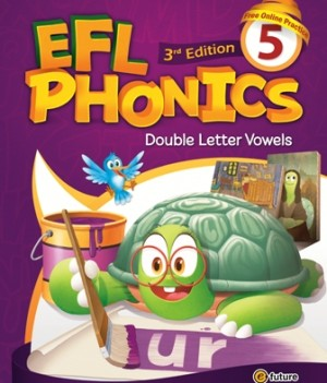 EFL Phonics 3rd Edition 5   Student Book with workbook and CDs