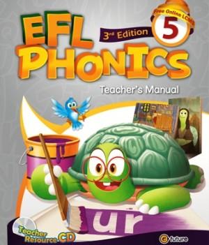 EFL Phonics 3rd Edition 5   Teacher's Manual with Resource CD