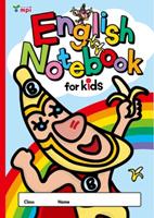 English Notebook for Kids (バナくん)  Stationery