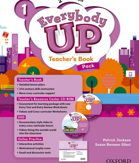 Everybody Up 1 (2nd Ed) | Teacher's Book Pack with DVD