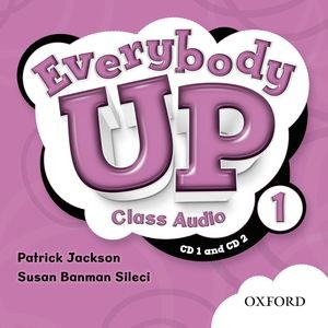 Everybody Up Level 1 | Class Audio CDs (2)